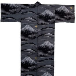 Kimono für Herren Fuji-san