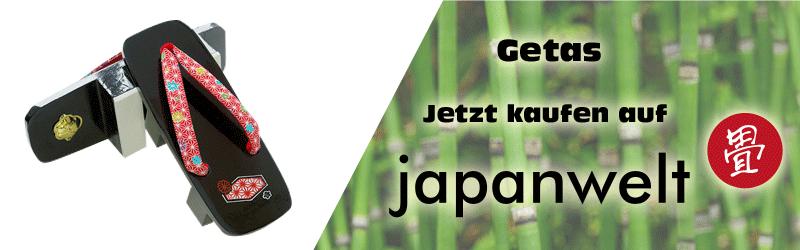 Banner der zu Japanwelt Geta