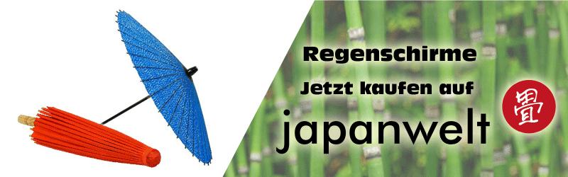 regenschirme banner japanwelt