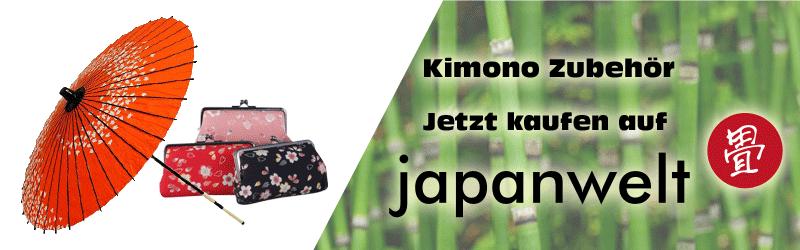 Kimono Zubehör banner japanwelt