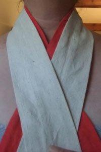 Erisugata Kimono Unterwäsche