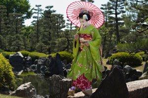 Hiyoku Geisha Kimono Unterwäsche