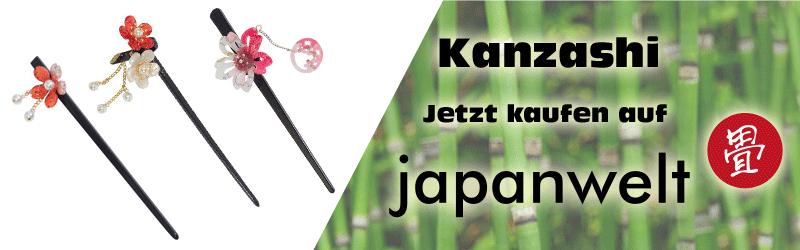 kanzashi banner japanwelt