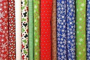 Kimono Stoffe in verschiedenen Farben