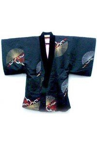Neneko Kimono Jacke mit Komplexem Muster.