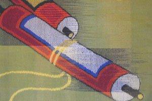 Kimono Symbol Schriftrollen alt Asiatisch